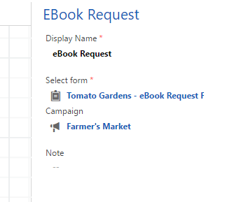 Ebook request settings
