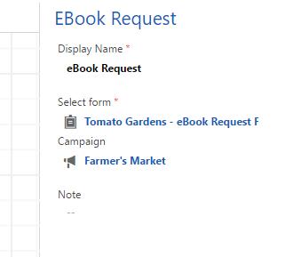 Ebook request settings