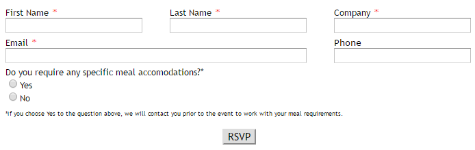 Fundraising Gala Form